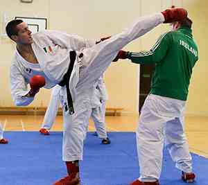 sensei neil harte kicking